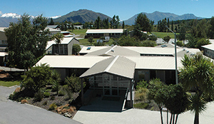 Mount Aspiring College's entrance in Wanaka