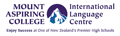 Mount Aspiring College's International Language Centre Logo