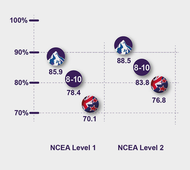NCEA Success numbers and comparisons